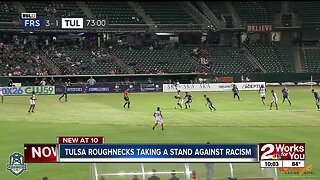 Tulsa Roughnecks taking a stand against racism