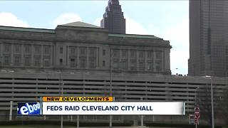 Feds raid Cleveland City Hall - Video