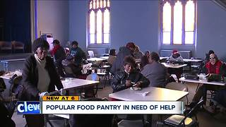 Cleveland food pantry in need of helping hand - Video