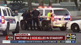 Mom, two kids killed on Christmas in Phoenix - Video