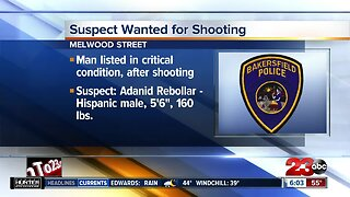 Suspect wanted in Bakersfield shooting