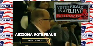 RUDY GIULIANI CALLS OUT COMMIES! AZ HEARING ON DNC/CHINA ELECTION STEALING-BEST OF HIGHLIGHTS