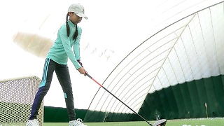 Lily Zhang to represent Western New York at Drive, Chip & Putt National Finals - Video