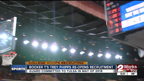 Trey Phipps De-Committs from Tulsa
