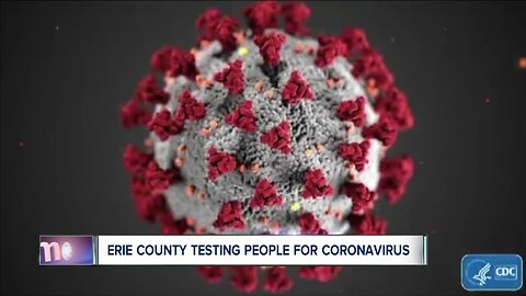 Erie County Department of Health testing people for COVID-19