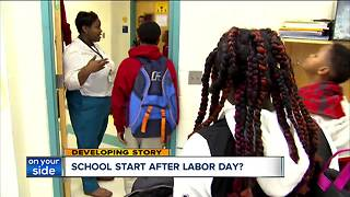 Two bills propose starting Ohio schools after Labor Day - Video