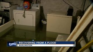 Burlington flood victims empathize with those affected by Harvey