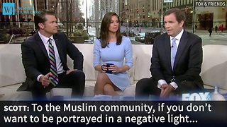 'Fox & Friends' Host Criticized For Comment About Muslims - Video