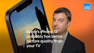 iPhone 12 vs your TV: Which has better picture quality?