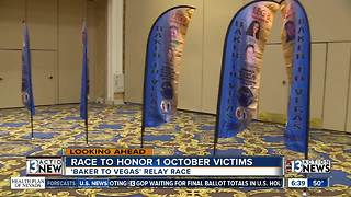 Race to honor 1 October victims - Video