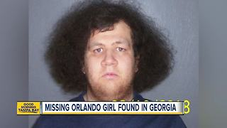 Missing 11-year-old Orlando girl found in Georgia with a 24-year-old man from Illinois - Video