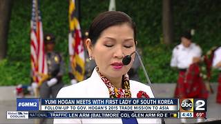 Yumi Hogan meets with South Korea first lady - Video