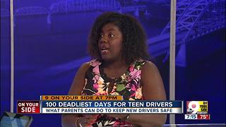 100 deadliest days for teen drivers - Video