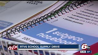 Donate to the RTV6 school supply drive