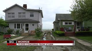 Monroe County residents brace for flooding as storms move in to metro Detroit