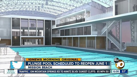 Plunge Pool at Belmont Park to Re-Open June 1