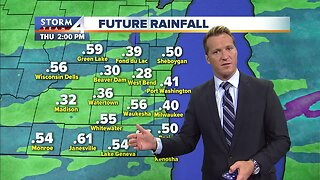 More rain moving in Wednesday morning