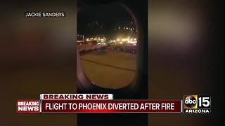 Flight heading for Phoenix makes emergency landing
