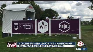 Indy Women in Tech Championship tees off at Brickyard Crossing - Video
