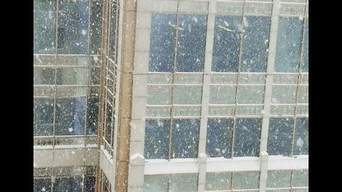 'It's Snowing Up': Snowflakes Fly to the Sky in Minneapolis Storm