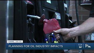 Planning for oil industry impacts