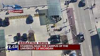 Stabbing near the campus of the University of Michigan