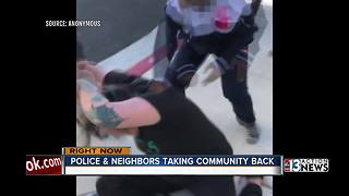 Community taking action after Las Vegas mom attacked by kids - Video