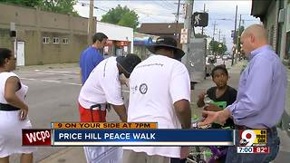 Price Hill peace walk - Video