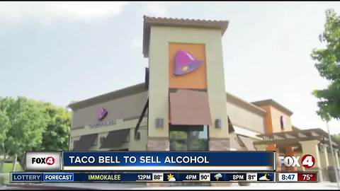 Taco Bell's 300 new locations will serve alcohol, new twists on food
