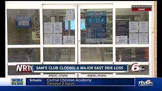 Sam's Club closure another blow to Indianapolis' east side - Video