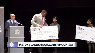 Pistons host 13th Black History Month scholarship contest - Video