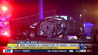 Man indicted in drunk driving crash that killed 3 young siblings