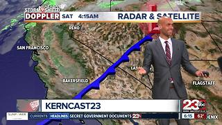 Below normal temps in store for Kern County!