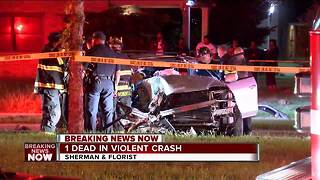 1 dead, 1 injured after car crashes into tree on Milwaukee 's north side - Video