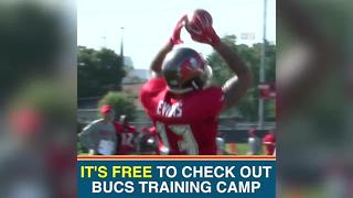 Fans gear up for Tampa Bay Buccaneers Training Camp - Video