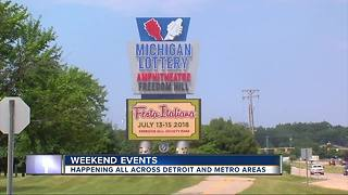 Here's a look at the top weekend events in Metro Detroit - Video
