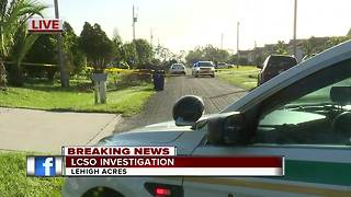 Investigation under way in Lehigh Acres - Video