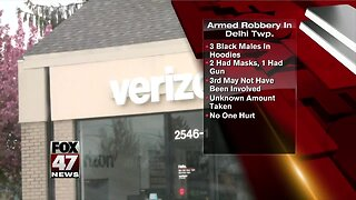 Police investigate armed robbery at Verizon store