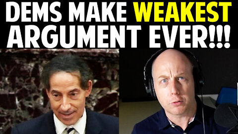 DEMS MAKE WEAKEST ARGUMENT EVER!!!