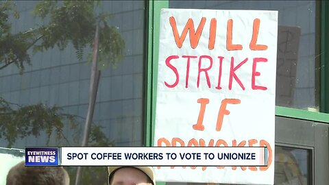 Spot Coffee workers wait to find out if they will unionize