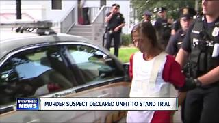 Judge deems murder suspect mentally incompetent to stand trial - Video
