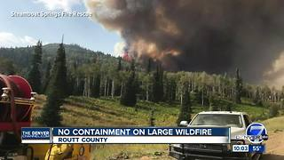 Colorado wildfires join dozens burning across the West