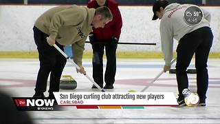 Local curling club attracting new players - Video