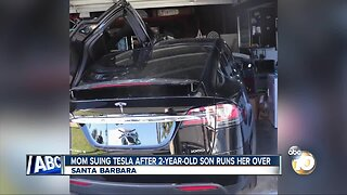 California mother sues Tesla after toddler son runs her over
