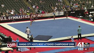 Kansas City hosts U.S. Gymnastics Championships