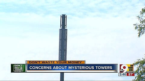 Mysterious 5G towers raise concerns
