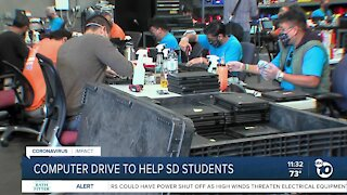 Computer drive to help San Diego students