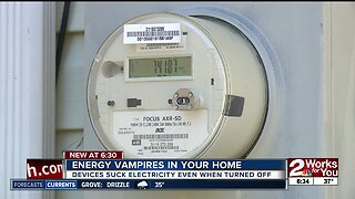 Energy vampires in your home