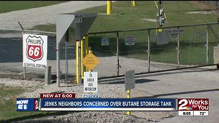 Council member voices concerns over butane storage tank in Jenks - Video