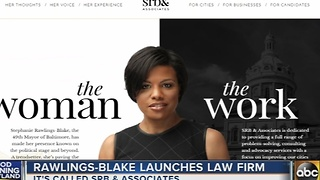 Former mayor Stephanie Rawlings-Blake launches new law firm - Video